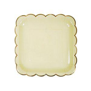 Edges Square Plates