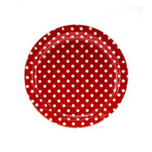 Polka dots Plates