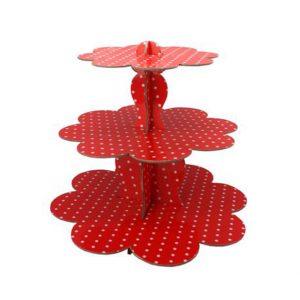 Polka Dots Cupcake Stand