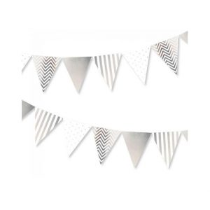 Chevron, Dots, and Stripes Bunting