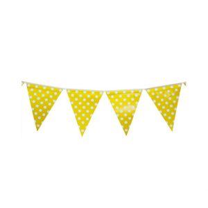 Yellow Polka Dots Bunting