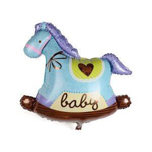 Rocking Horse Foil Balloon
