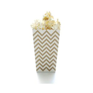 Chevron Popcorn Boxes