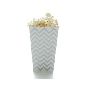Chevron Popcorn Boxes