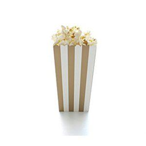 Striped Popcorn Boxes