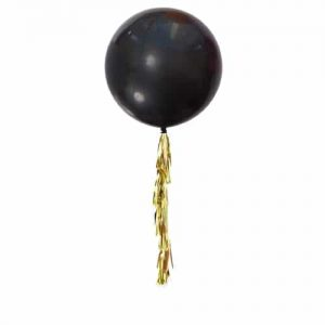 Jumbo Balloon with Star Tassel Tail