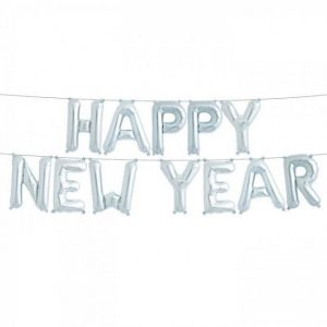 Happy New Year Foil Balloon Banner