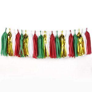 Christmas Tassel Garland
