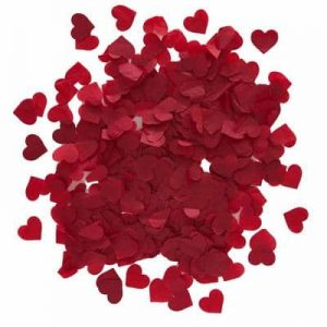 Red Heart Confetti