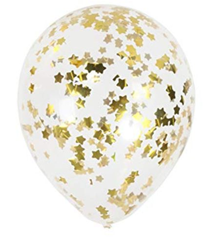Star Confetti Balloon Pack