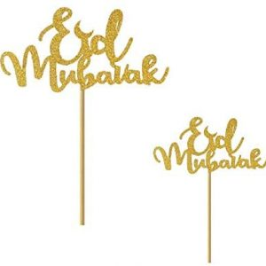 Eid Mubarak Cupcake Topper