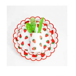 Strawberry Party Tableware Set