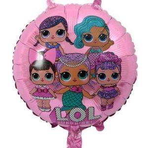 LOL Surprise Pink Foil Balloon