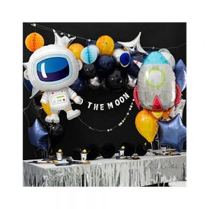 Outer Space Cartoon Balloons