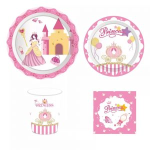 Princess Party Tableware Set
