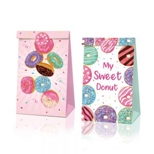 Donuts Party Gift Favor Bags