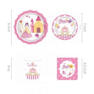 Princess Party Tableware Set