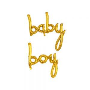 Script Foil Balloons Baby Girl
