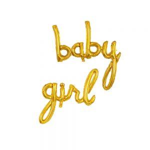 Script Foil Balloons Baby Boy