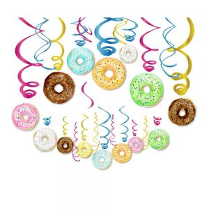 Donut Swirl Hanging Decorations
