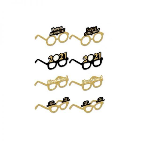 new year 2021 Eye Glasses Set