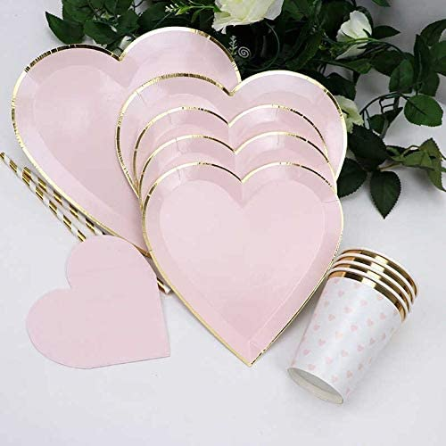 heart shaped tableware