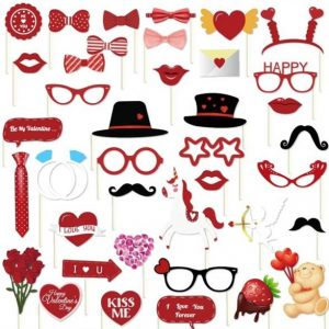 Valentine's Day Photobooth Props