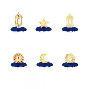Ramadan Themed Honeycomb Centerpieces