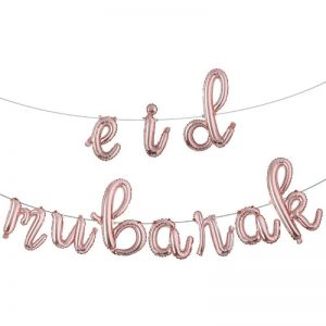 Eid Mubarak Foil Balloon Banner