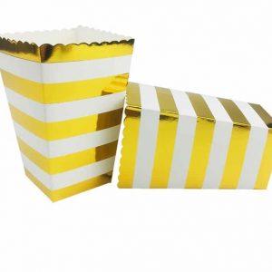 Gold Horizontal Striped PB