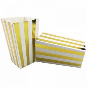 Gold Vertical Striped