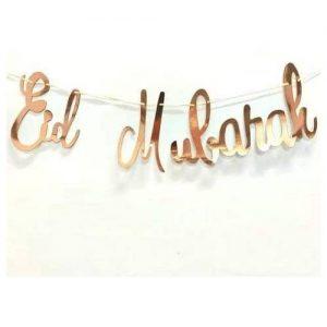 EId Mubarak rose gold
