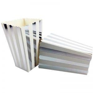 Silver vertical striped PB