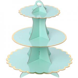 Mint Cup Cake stand