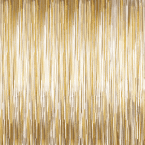 Gold Matte foil curtain