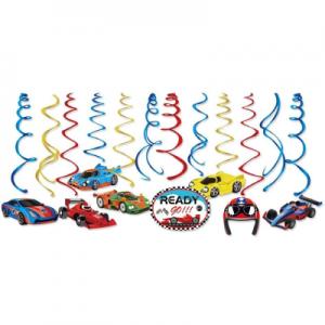 Racing Car Swirls