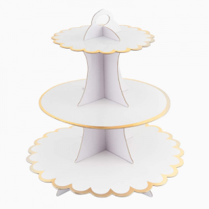 White Cup Cake Stand