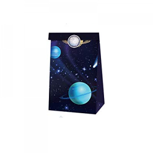 Outer space Party favor bags