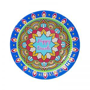 Diwali plates 7inches