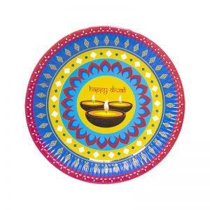 Diwali plates 9inches